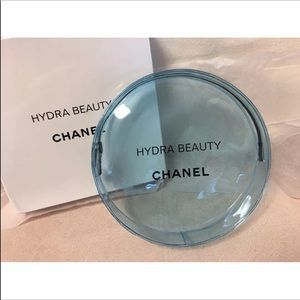 Chanel Beaute  Hydra Beaute Blue Cosmetic Bag